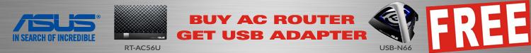 ASUS AC56U Bundle