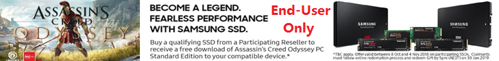Samsung SSD game promo