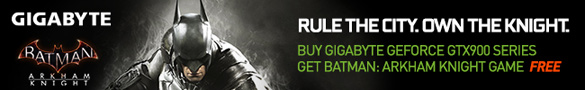 NVIDIA Batman Arkham Knight Game Bundle (1st June 2015 - 15th July 2015)